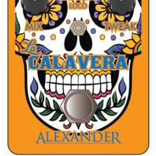 Alexander Pedals La Calavera Phaser - Brand New - Official Dealer