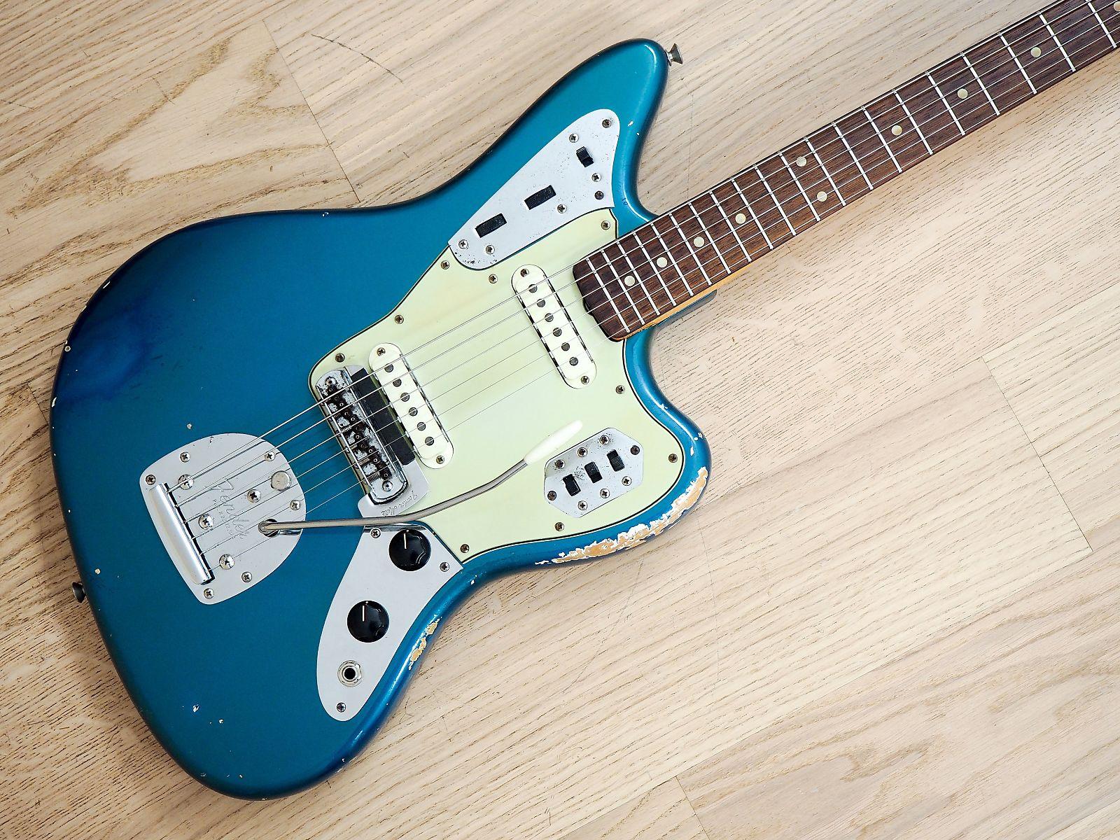 in sunburst vintage guitars fender tone jaguar en