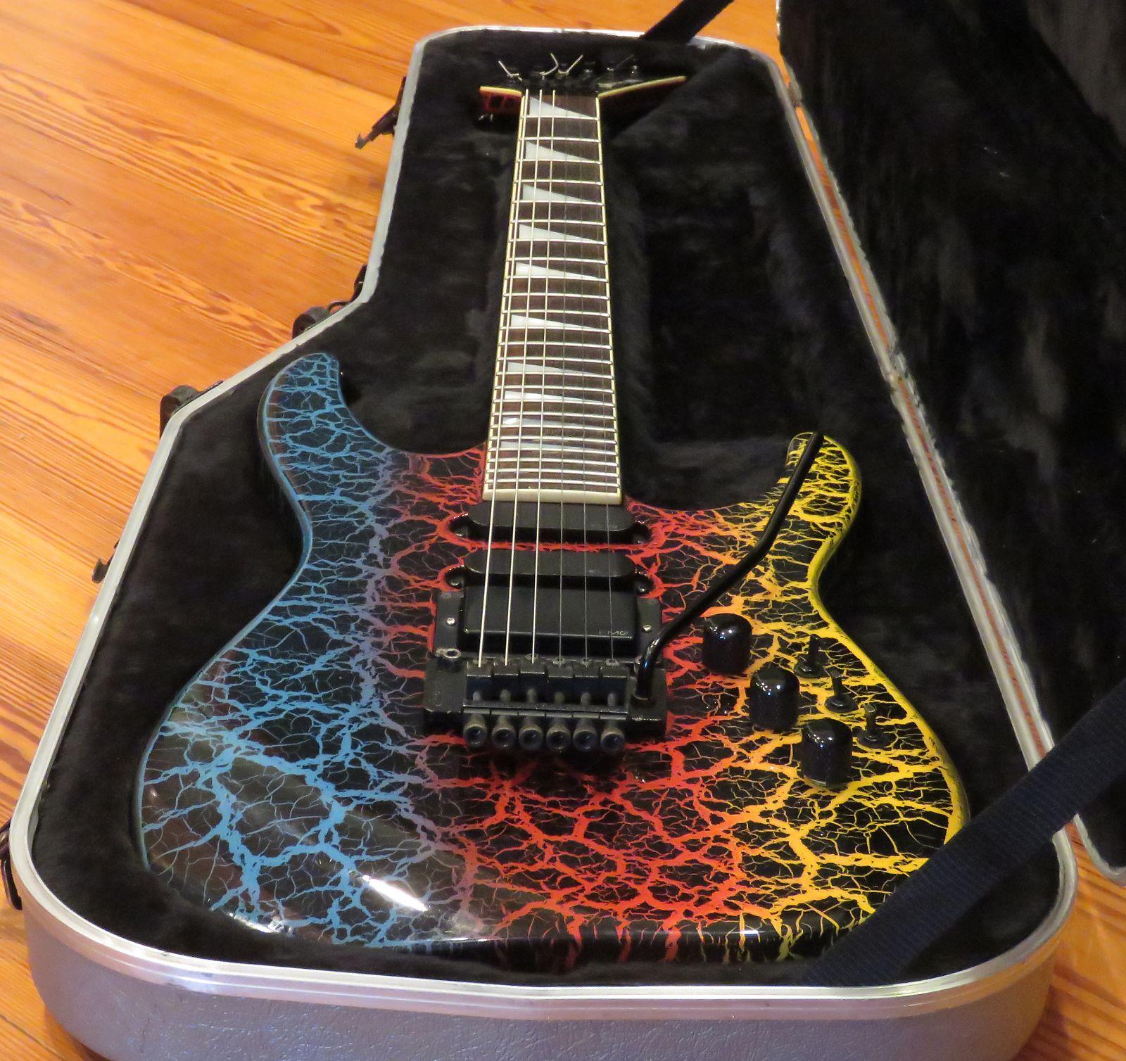 1988 Charvel Jackson Model 6 Soloist MIJ Shred Guitars Pinterest