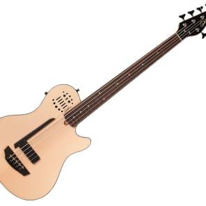 Godin A5 Ultra SA Semi-Acoustic 5-String Bass Natural