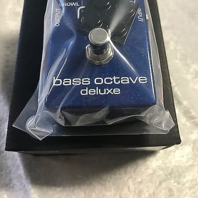 MXR Dunlop M288 Bass Octave Deluxe Effects Pedal M-288 True Bypass Independent Voices ( OPEN BOX ) for sale