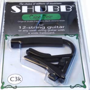 Shubb C3K Deluxe 12-String Guitar Capo