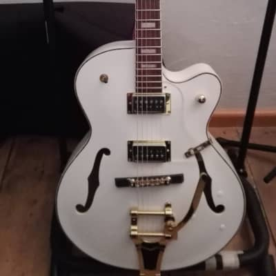 Harley Benton Big Tone Hollowbody 2018 white for sale