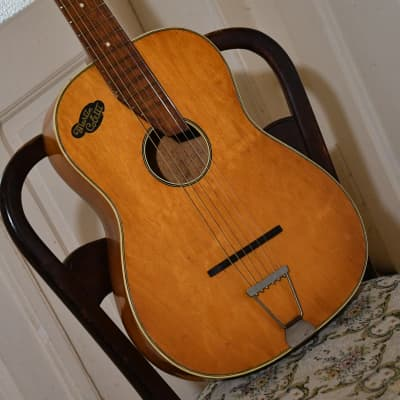Vintage Martin Coletti Parlor Guitar, 1940/50s, Made in Germany – video included for sale