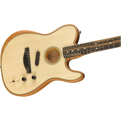 Fender American Acoustasonic Telecaster Acoustic-Electric Guitar - Natural for sale