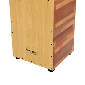 Tycoon TKT-35 35 Series Mixed Wood Cajon w/ American Ash Front Plate