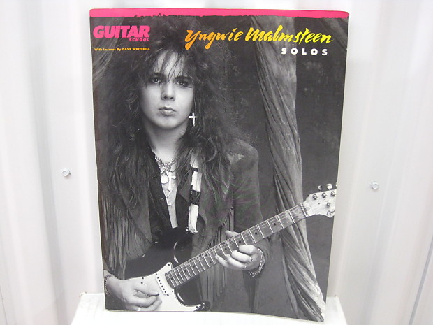 YNGWIE MALMSTEEN BASS /& GUITAR TAB CD TABLATURE BEST OF GREATEST HITS MUSIC SONG