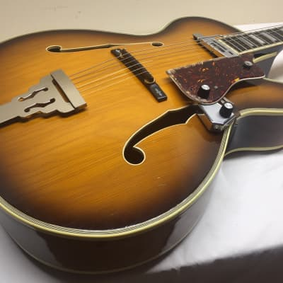 1967 ELGER jumbo  Archtop  2 Color Sunburst  - Made in the USA for sale