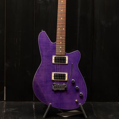 Reverend Kingbolt RA FM Purple Flamed Maple for sale