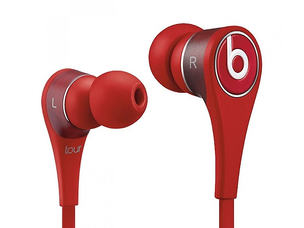 Beats By Dr  Dre Tour 2 0 In-Ear Headphones - Red