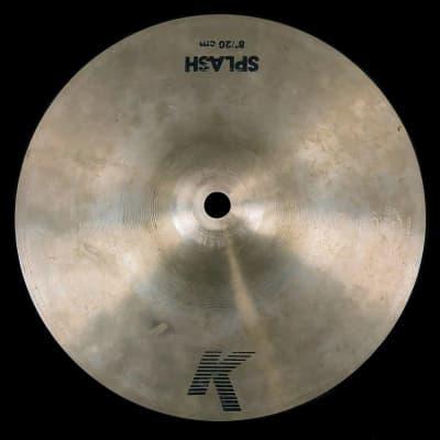 """Zildjian 8"""" K Series """"EAK"""" Splash Cymbal 1982 - 1988"""