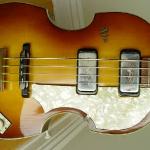 Hofner 500/1 Violin Bass Sunburst 1961