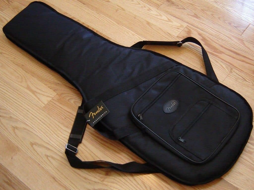 new usa fender strat tele deluxe gig bag case guitar reverb. Black Bedroom Furniture Sets. Home Design Ideas