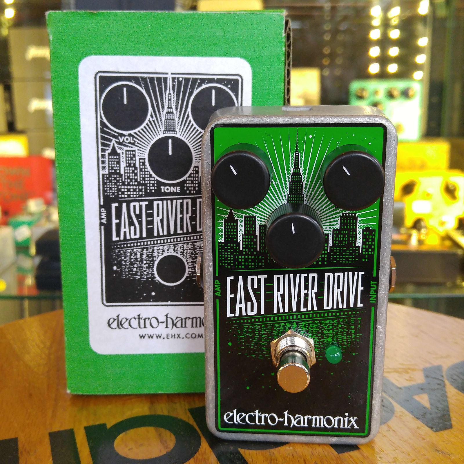 Electro-Harmonix East River Drive Overdrive Pedal 2018 #201810122718 w/Box