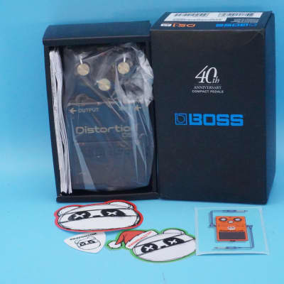 Boss DS-1-4A Distortion 40th Anniversary Edition w/Original Box | Fast Shipping!