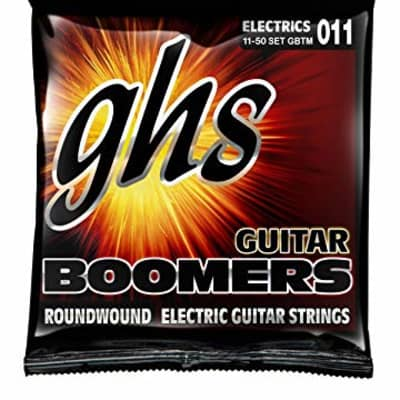 GHS GBM Guitar Boomers Electric String Set, 11-50