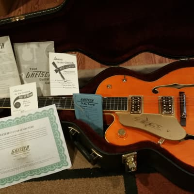Gretsch G6120-1959LTV Chet Atkins Hollow Body Lacquer with TV Jones Pickups 2008  Left Handed