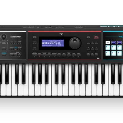 Roland Juno DS61 Synthesizer Keyboard w/ USB & Wall or Battery Power