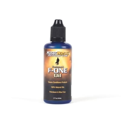 Music Nomad- MN105- F-One Oil, fretboard cleaner & conditioner