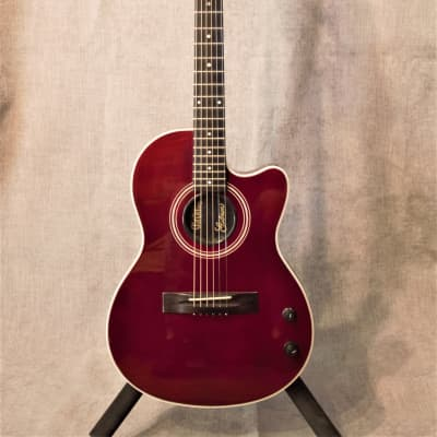 Gibson Chet Atkins SST 1990 Wine Red - Celebrity Owned