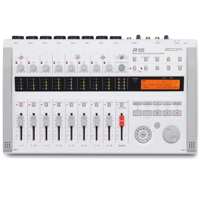 Zoom R16 Multitrack SD Recorder Interface and Controller