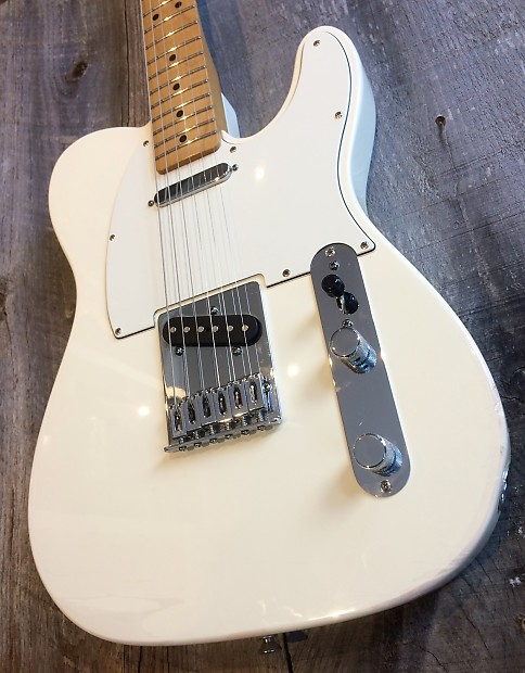 fender 60th anniversary telecaster 2011 white reverb. Black Bedroom Furniture Sets. Home Design Ideas