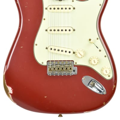 Fender Custom Shop 61 Stratocaster Relic in Cimarron Red for sale