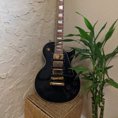 Epiphone Les Paul Black Beauty 3-Pickup with Gold Hardware, Binding 2019 Ebony for sale