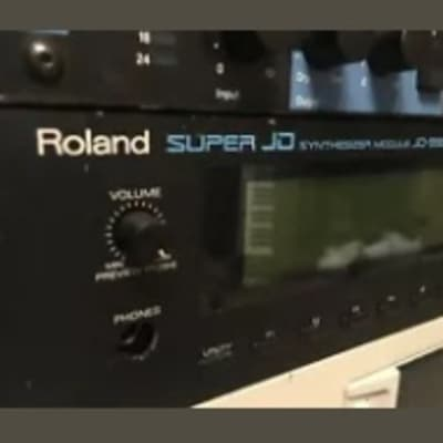 Roland Super JD-990 w/ Vintage Synth Expansion Board + custom Memory Card