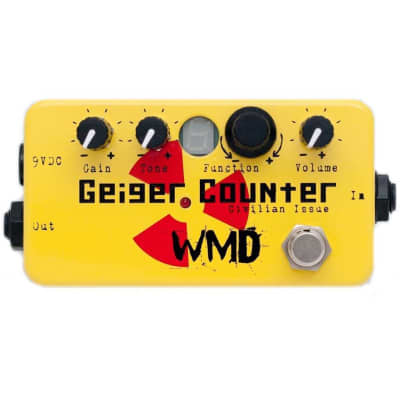 WMD Geiger Counter Civilian Issue (GCCI) Distortion Pedal