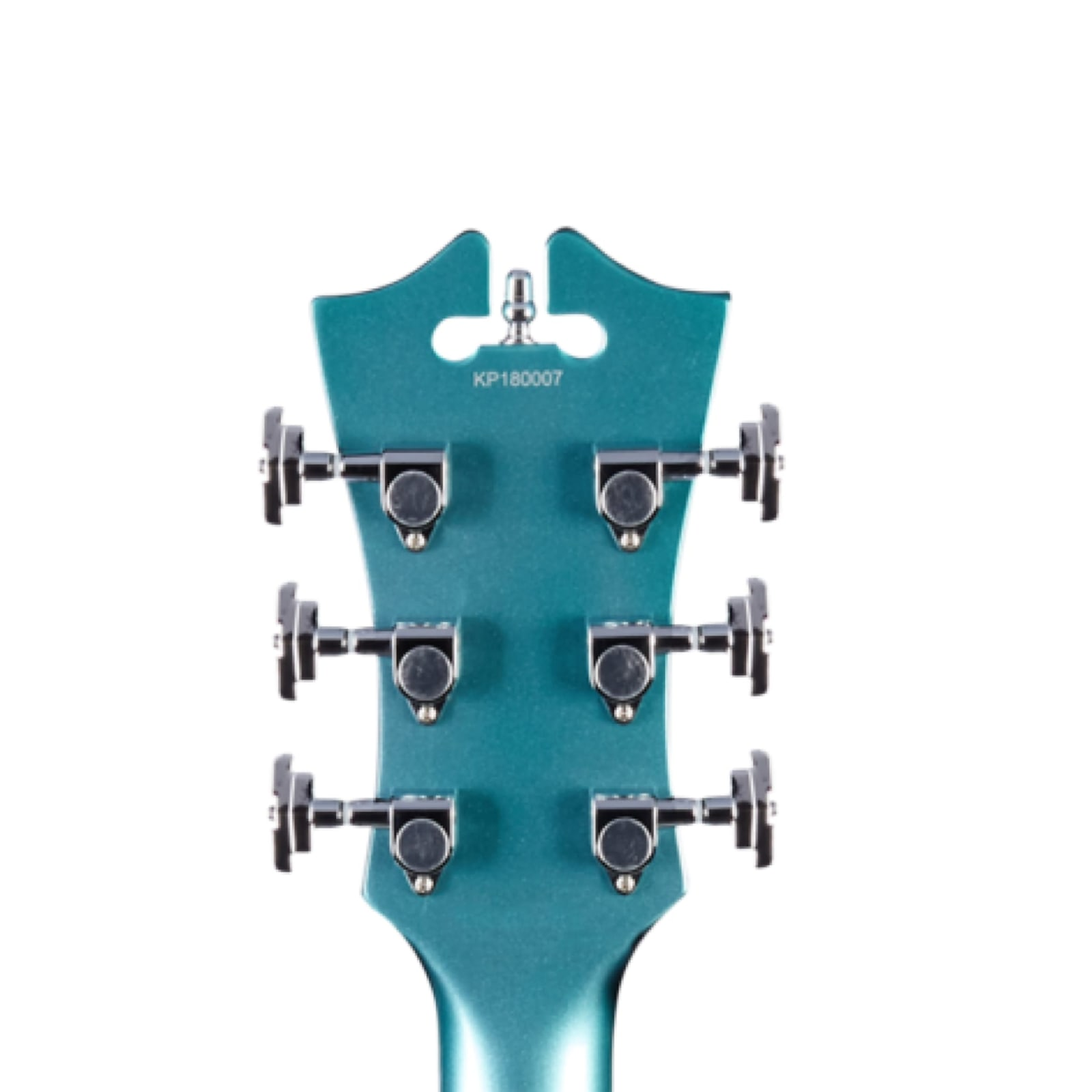 D'Angelico Premier Mini DC Double-Cutaway Semi-Hollow Body in Ocean Turquoise w/ Gig Bag