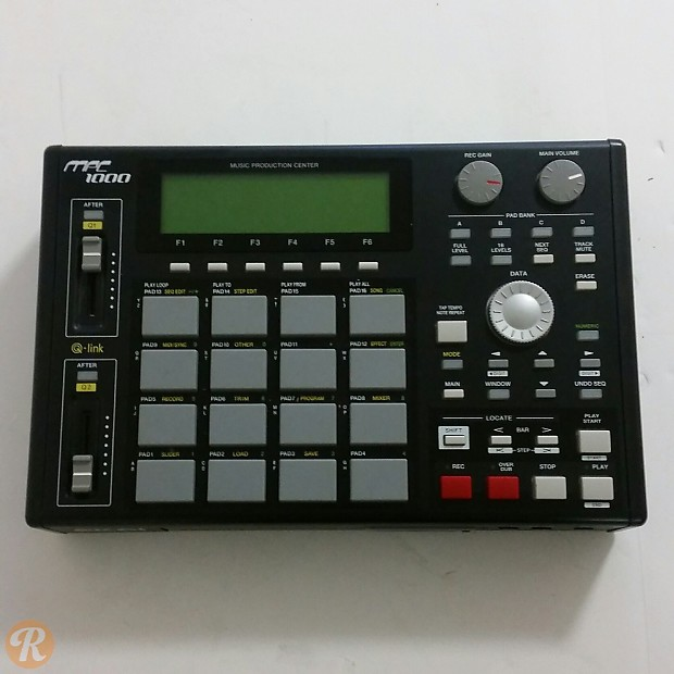 akai mpc1000 sampling drum machine and sequencer reverb. Black Bedroom Furniture Sets. Home Design Ideas