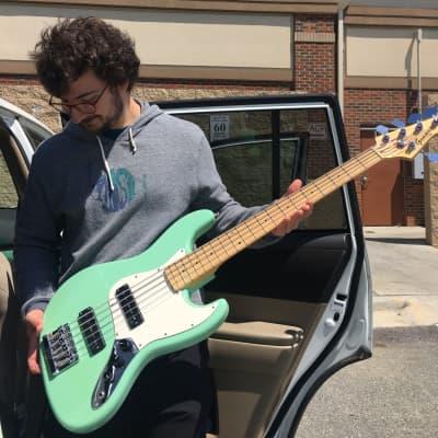 Gamma 5 string Custom J Bass for sale