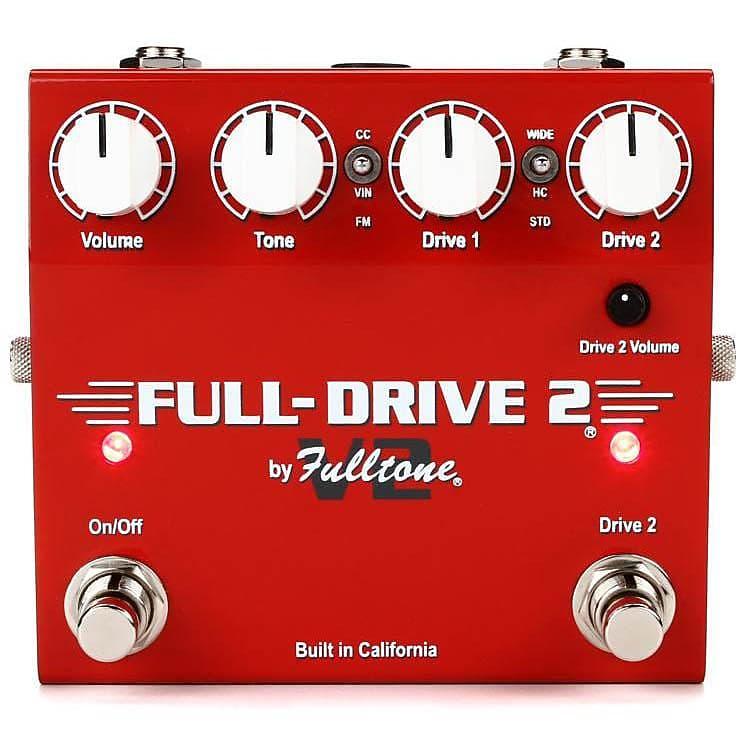 fulltone full drive 2 v2 overdrive boost pedal reverb. Black Bedroom Furniture Sets. Home Design Ideas