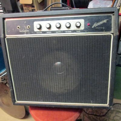 HARMONY model 7490-90 vintage solid state amp combo amplifier w/ tremolo for sale