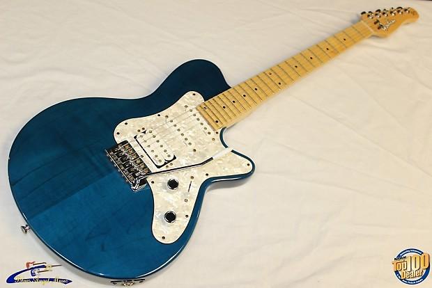 1999 Godin Sd 24 Electric Guitar Ohsc Translucent Reverb