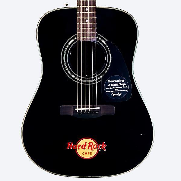 fender dg 8s 39 hard rock cafe 39 acoustic guitar reverb. Black Bedroom Furniture Sets. Home Design Ideas