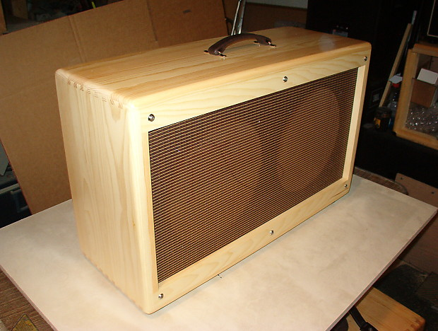 2x12 TRM extension guitar cabinet 212 Vintage tweed style.   Reverb