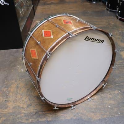 "Leedy Vintage 1930's Spartan 14x28"" Bass Drum"