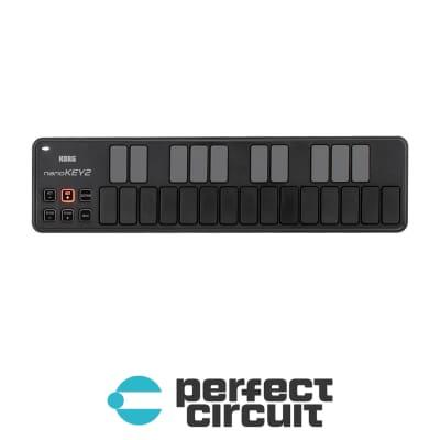 Korg NanoKey2 Slim-Line USB MIDI Controller (BLACK)
