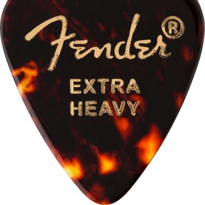 Fender Tortoise Shell, 351 Shape, Extra Heavy, 12 Count