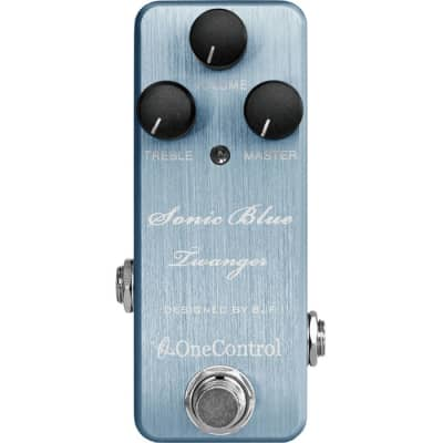 One-Control Sonic Blue Twanger Distortion Pedal for sale