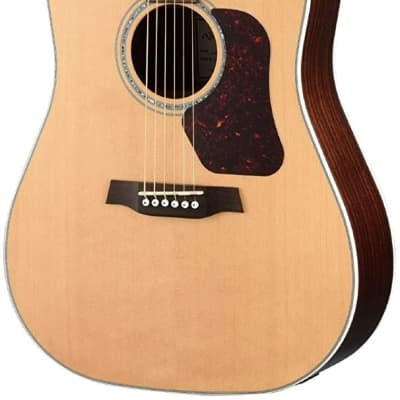 Walden D600CE Natura Solid Sitka Top/Rosewood Dreadought Acoustic Cutaway-Electric Guitar - Satin Natural for sale