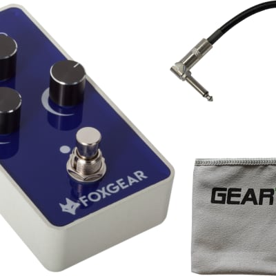 FoxGear Korus - Vintage Analog Chorus Pedal w/ Cloth and Cable