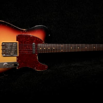 RebelRelic 1962 T-series  3-tone Sunburst Telecaster type for sale