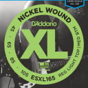 D'Addario ESXL165 Nickel Wound Bass Guitar Strings Medium 50-105 Double Ball End Long Scale