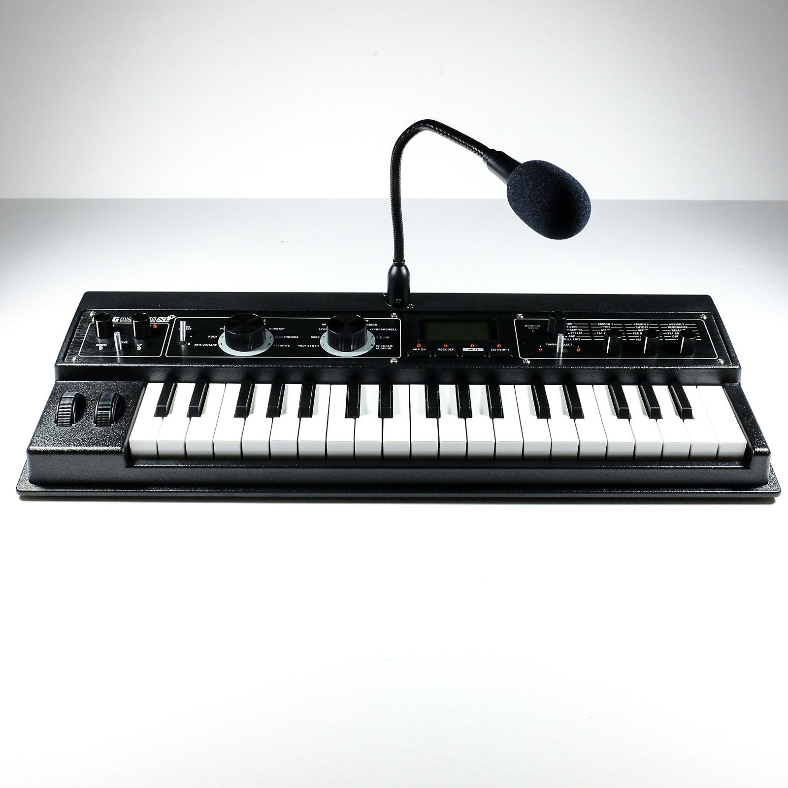 korg microkorg xl analog modeling synthesizer w vocoder reverb. Black Bedroom Furniture Sets. Home Design Ideas