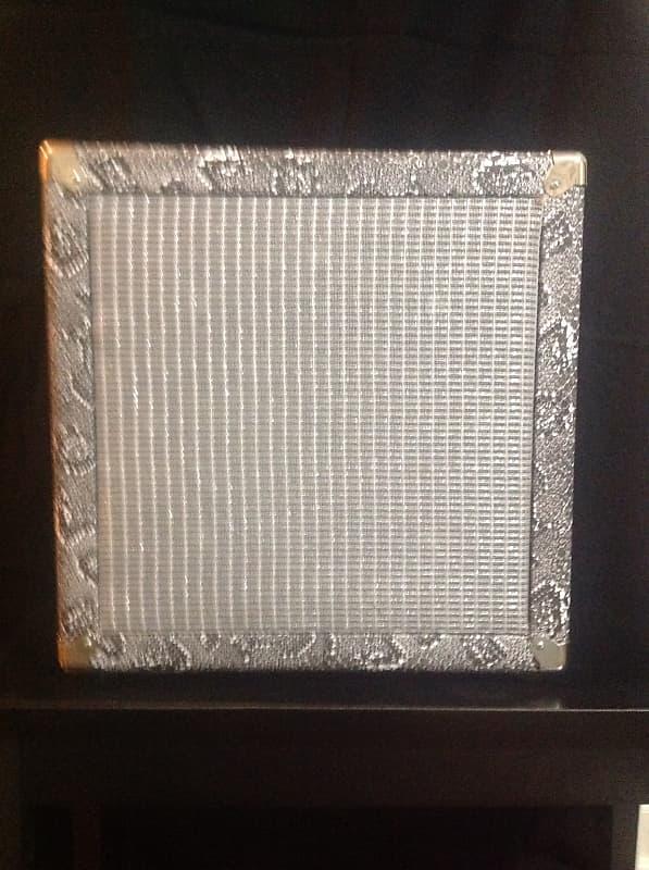 Custom 112 Speaker Cabinet 112 2018 Silver Snakeskin, Silver   Reverb