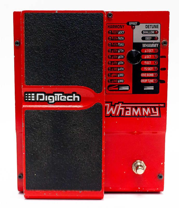 2000 Digitech Whammy 4th Gen Pitch Shift Effect Guitar Pedal Reverb