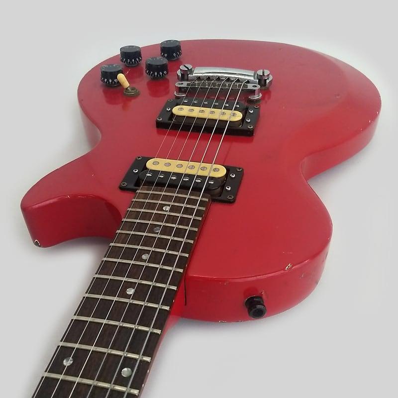 gibson invader 1985 red garage band guitars reverb. Black Bedroom Furniture Sets. Home Design Ideas